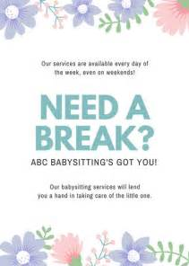 Babysitting Flyer Template by Search Results For Babysitting Flyer Templates