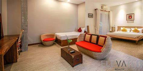 central market  bedroom studio apartment  rent  boeng raing  elevated realty