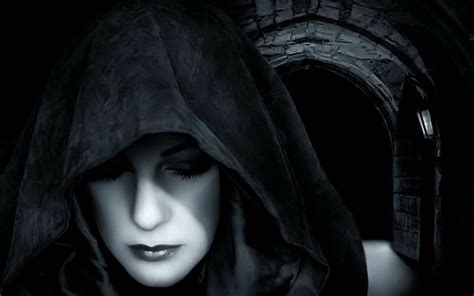 Wallpaper Girl Dark | dark gothic wallpaper