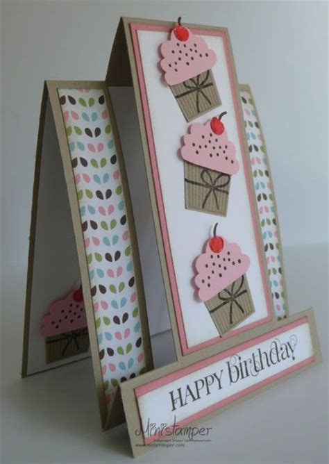 Step By Step Handmade Cards - best 25 center step cards ideas on folded