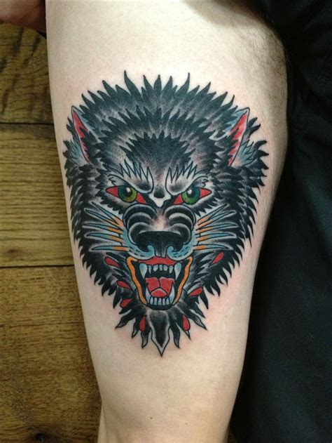 wolf traditional tattoo 25 artistic wolf designs collections