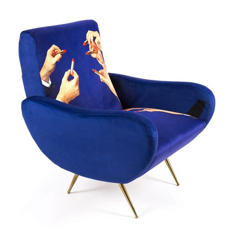 Armchair Toilet by Armchair Lipsticks Seletti