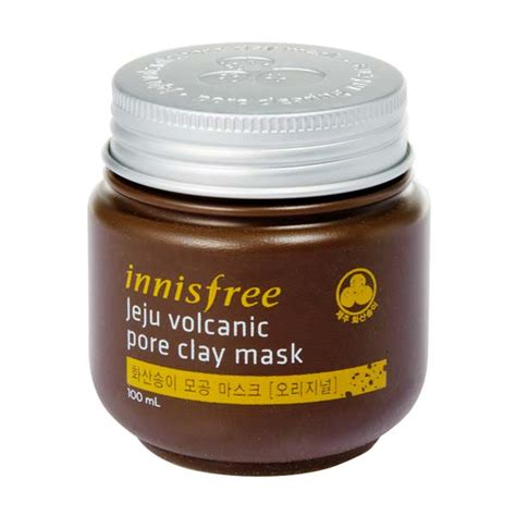 Harga Innisfree Mask jual innisfree jeju volcanic pore clay mask 100 ml