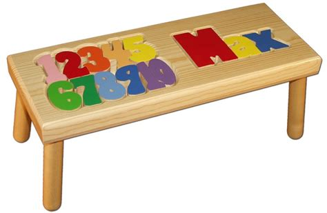 Child Stool With Name Blocks by 28 Best Images About Personalized Name Stools On