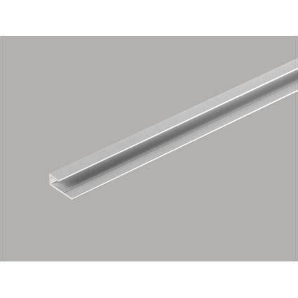 h profiel tegels start en eindprofiel voor dumawall tegels mat aluminium