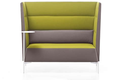 sofa mit hoher sitzhöhe sofa ideal for acoustic insulation with high backrest