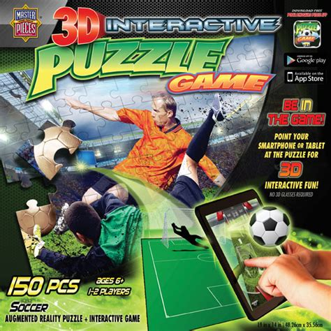 soccer interactive 3d interactive soccer 3d puzzle puzzlewarehouse