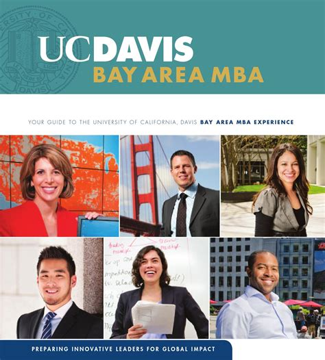 Uc Davis Mba Bay Area by 2013 Bay Area Mba By Uc Davis Graduate School Of