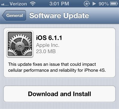 how to update my iphone ios 6 1 1 update released for the iphone 4s gsmarena news