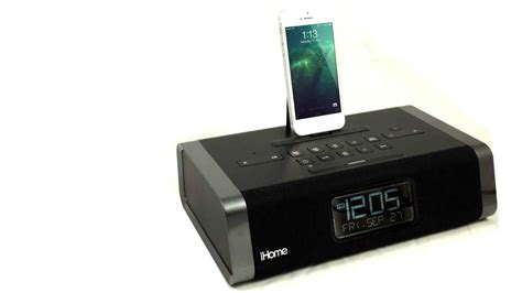 peachpicks idl45 bluetooth alarm clock from ihome