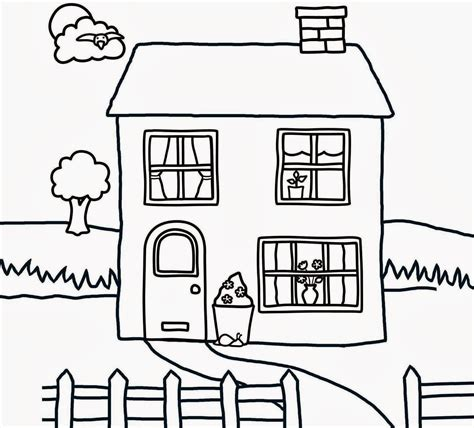 draw my house colour drawing free wallpaper small house for kid