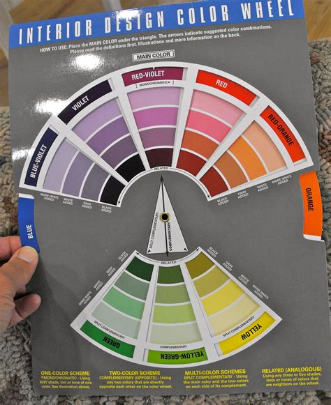 color wheel interior design interior design color wheel
