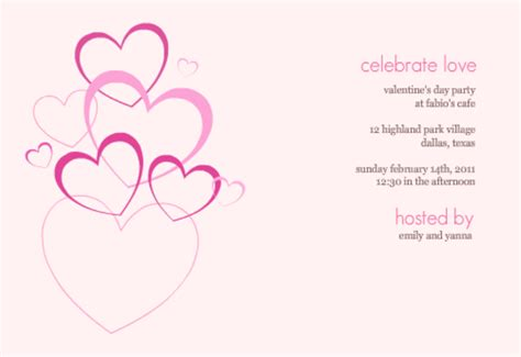 printable valentine invitation 8 best images of free printable valentine s trivia