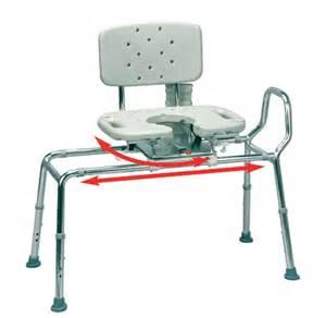 swivel transfer bench sliding transfer bench with cutout swivel seat