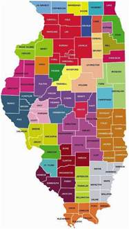 map of illinois counties free printable maps