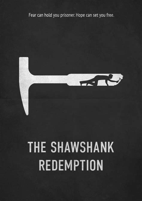 filme stream seiten the shawshank redemption the shawshank redemption minimalistic poster redesign