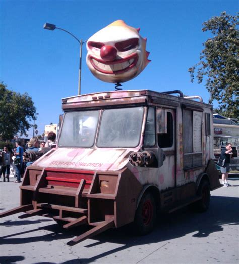 Twisted Metal Garage sweet tooth from twisted metal is more terrifying in real