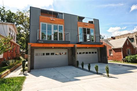 Modern Garage Apartment Plans octadia townhomes