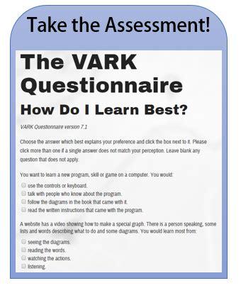 university blog vark questionnaire part 2 excelsior college 187 vark assessment