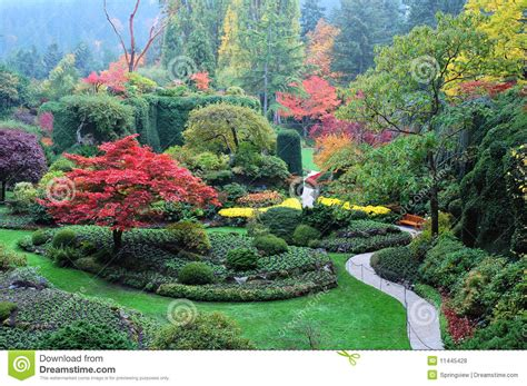 garden landscape royalty free stock photos image 11445428