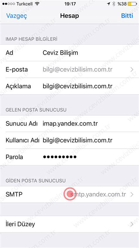 Office 365 Mail Kurulumu Iphone Yandex Mail Kurulumu Iphone Yardım Destek