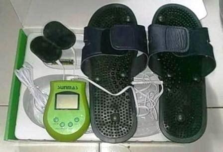 Sandal Pijat sandal pijat sunmas elektrik kaki penat hilang sekejap