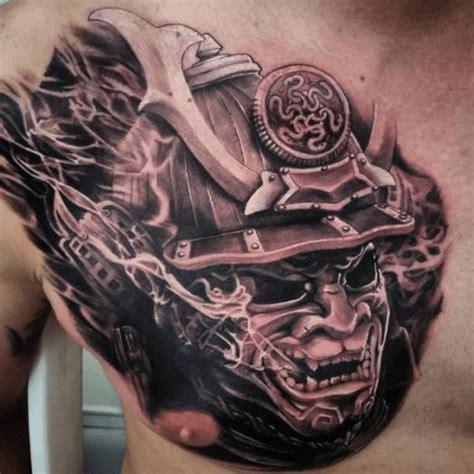 japanese chest tattoo best 25 samurai mask ideas on oni