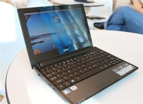 Laptop Acer Aspire One D255 Second on acer aspire one d255 combines dual atom android os