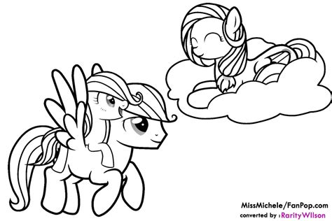 my little pony coloring pages friendship is magic team