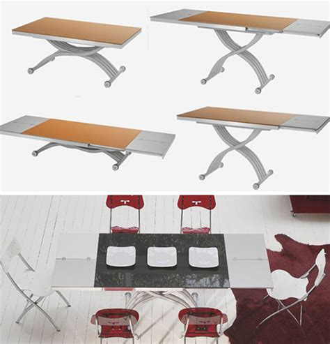 coffee to dining table transformation transforming tables convert coffee to dining surfaces