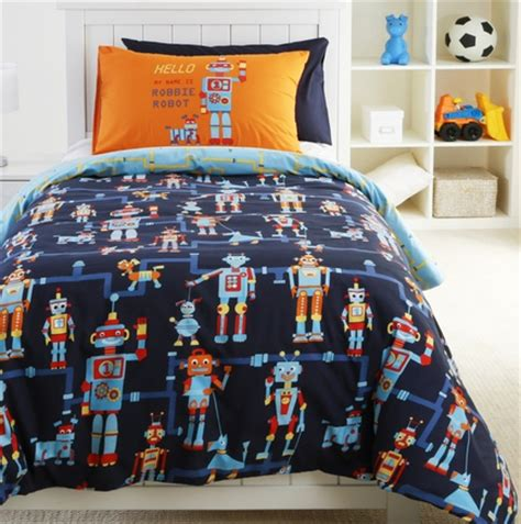 robot bedding just kids blog