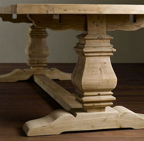Restored Wood Dining Table Restoration Hardware Adjustable Table Fabulous Furniture