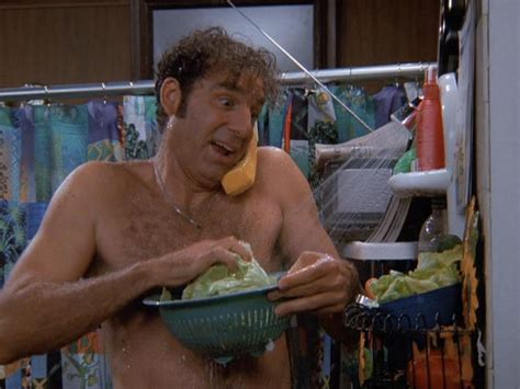 Kramer Shower by Oh Just Cooking Up A Thank You For Puddy Hey How Do