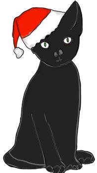 cat christmas cliparts   clip art  clip art  clipart library