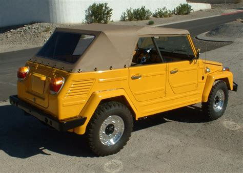volkswagen thing 1973 volkswagen thing convertible 152170