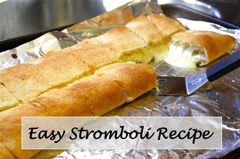stromboli recipes dishmaps