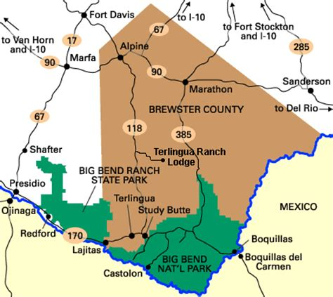 where is terlingua texas on a map members