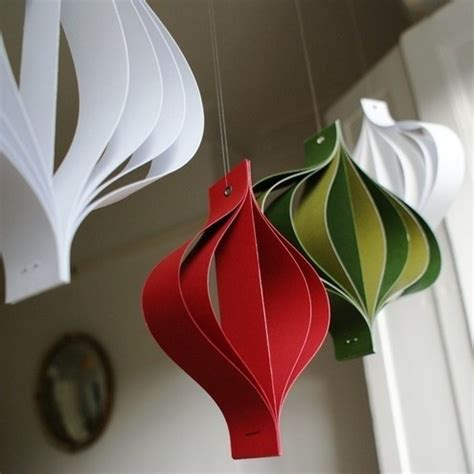 diy paper christmas decorations handspire