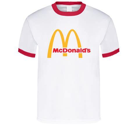 Tshirt Fast Food mcdonalds fast food golden arches symbol logo t shirt