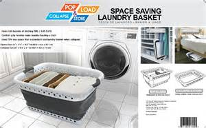Space Saving Laundry Foldable Space Saving Laundry Basket Storage Basket In