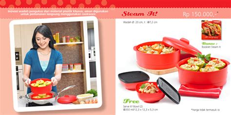 Steam It Tupperware Terbaru beli tupperware murah jual tupperware murah