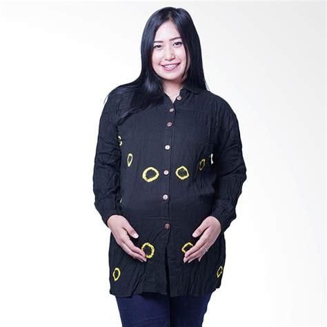 Atasan Anak Lengan Panjang Kuning jual blj 423 batik kelereng hitam manis baju