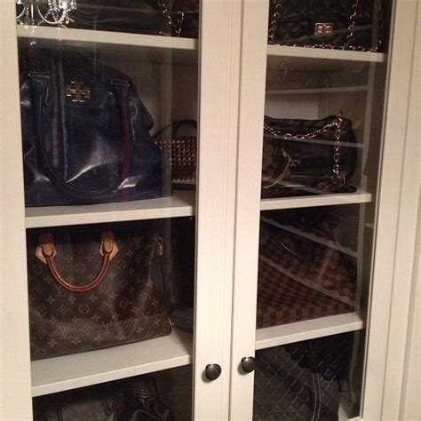 Best Way To Store Purses In Closet by 17 Best Images About Bag Storage On Purse