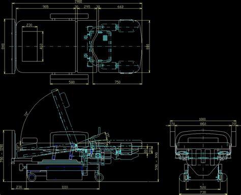 hospital bed dwg block  autocad designs cad