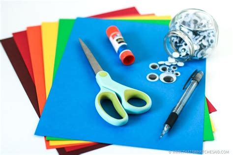 Paper Craft Supplies - and footprint turkey craft that s what che