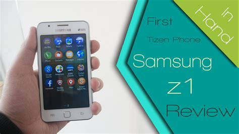 samsung  sm zh tizen os phone impressions hands  review thegadgetstv youtube