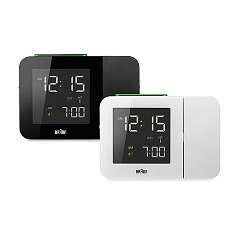 bed bath beyond clocks buy braun 174 digital projection alarm clock in black from bed bath beyond