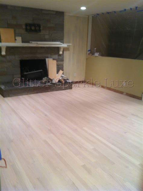 glitter sparkle luxe white wash stain and pickled wood floors