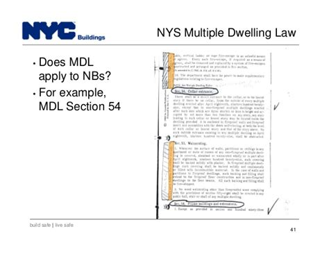 nbs sections new york city department of buildings filing rep course 202