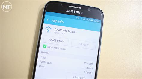 how to change and replace stock galaxy s6 touchwiz